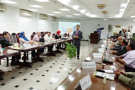 الجيزاوي: يسلم متدربي «القيادة والتأثير» بجامعة بنها شهادات ختام البرنامج