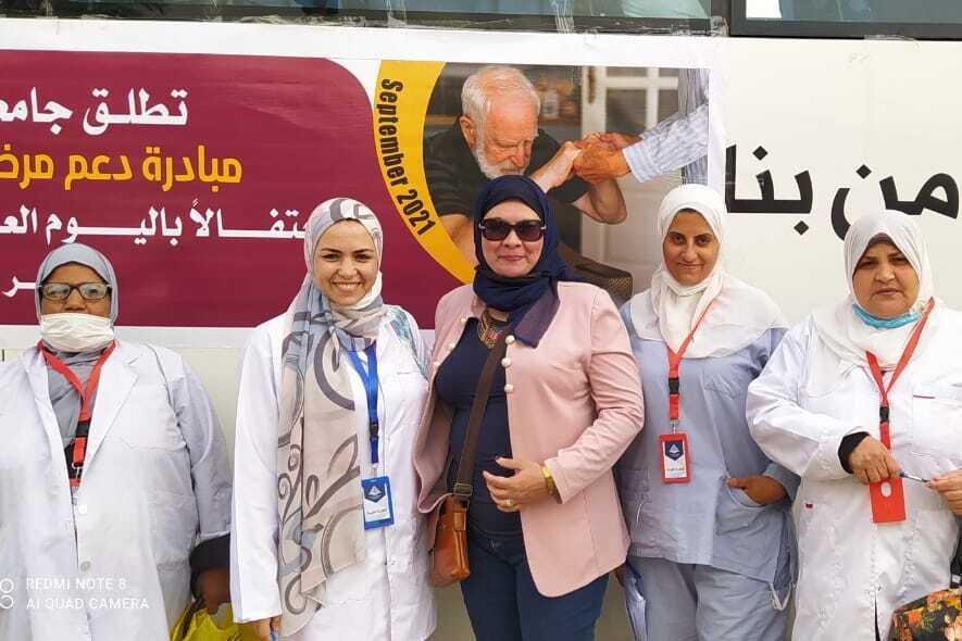 احتفالا باليوم العالمي للزهايمر: جامعة بنها تطلق مبادرة لتقديم الدعم والرعاية لاكبر دار للمسنين بالعبور
