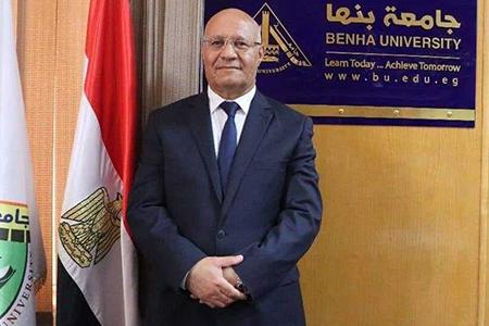 رئيس جامعة بنها يهنئ الرئيس السيسي بمناسبة ذكري انتصارات أكتوبر