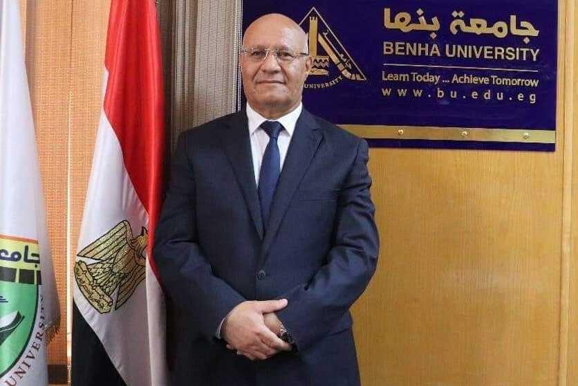 Benha University President congratulates Benha University on the Occasion of New Academic Year 20212022