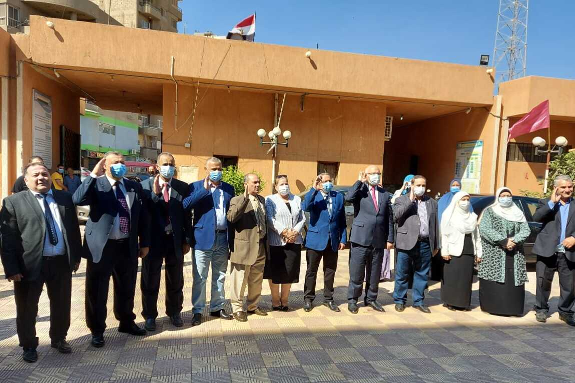 Benha University President inspects Faculties of Science and Engineering Benha
