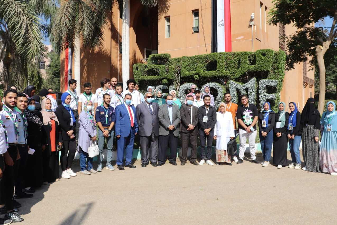 Benha University Vice President for Education and Students Affairs inspects Faculties of Agriculture and Specific Education