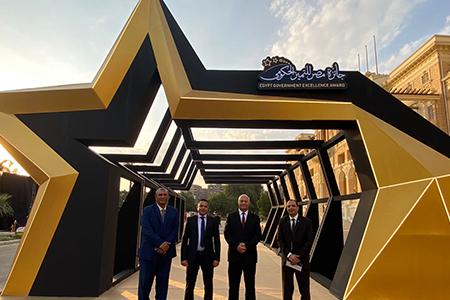 جامعة بنها تفوز بثلاث جوائز ضمن المراكز العشر الأوائل بجائزة مصر للتميز الحكومى